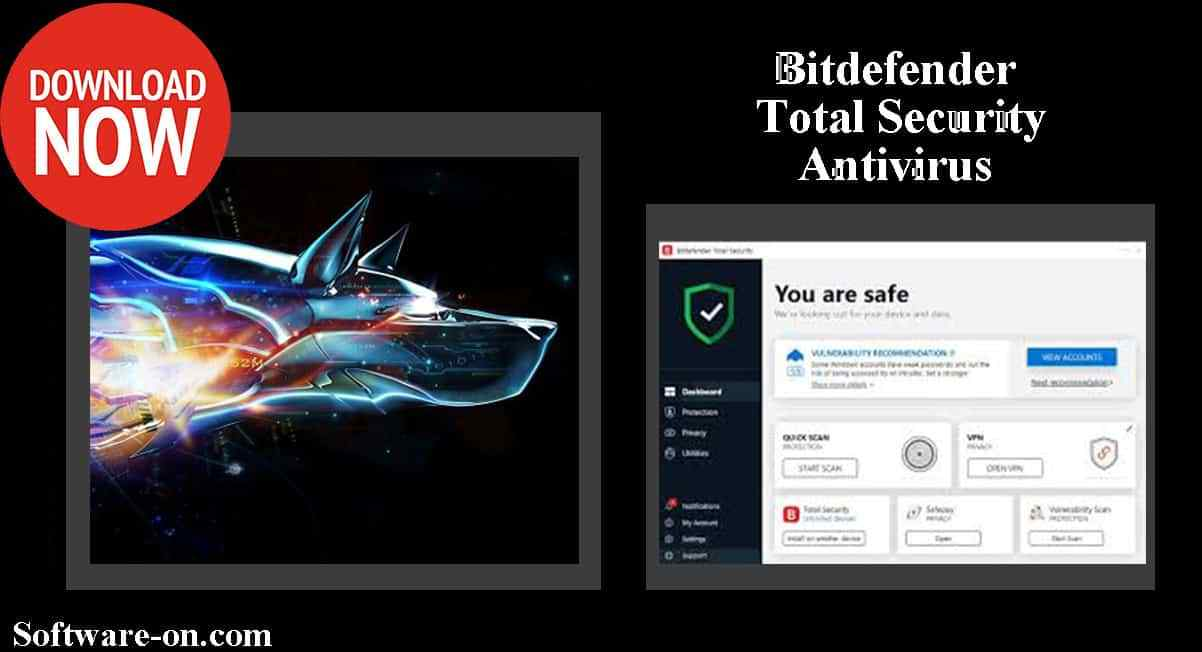 bitdefender total security 2019 (32 bit - 64 bit) multi language + trial resetter
