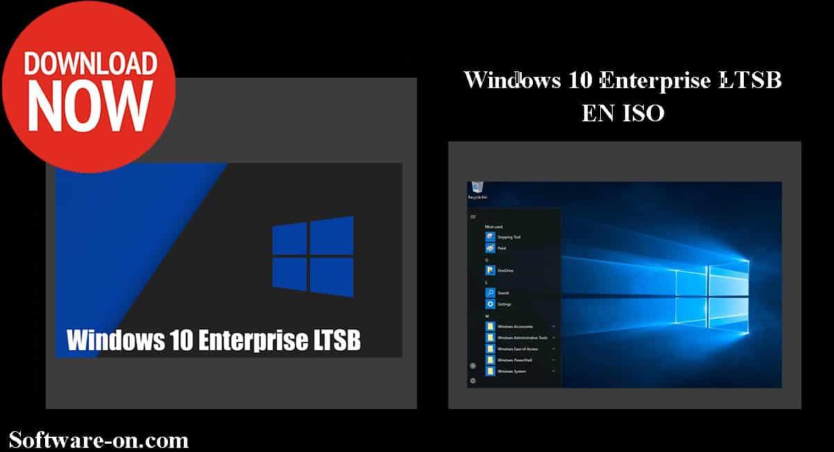 Windows 10 Enterprise LTSB EN ISO 2019 Pre Activated Full