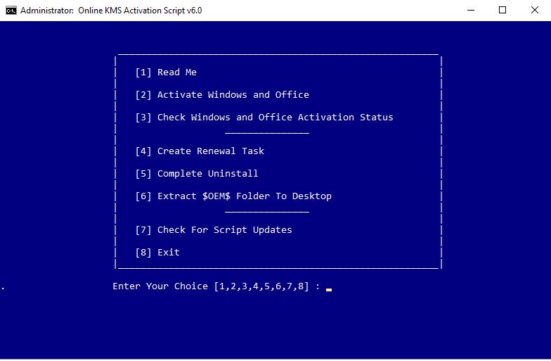 windows xp vlk activation