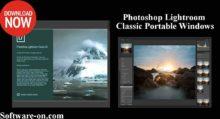 Photo of Adobe Photoshop Lightroom Classic CC Portable Windows