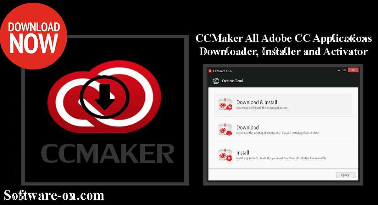 CCMaker 2019 Portable All Adobe CC For Windows Download Link