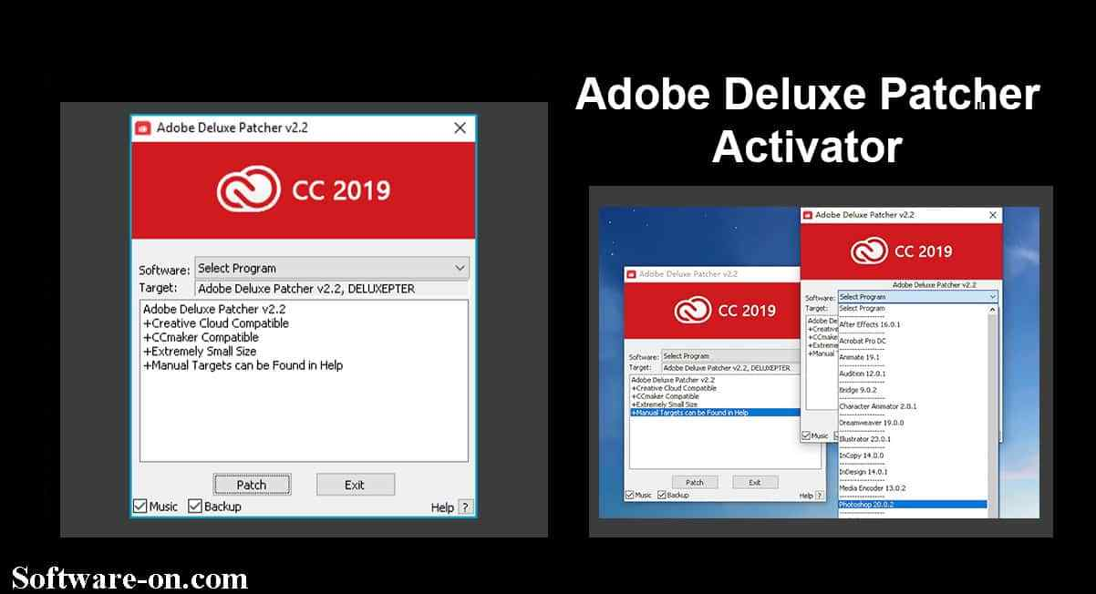 Adobe Deluxe Patcher Utility Activator 2019 Download Link - Software ON