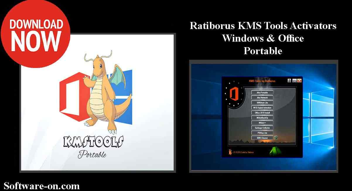 Ratiborus KMS Tools Portable Office & Windows 2019 Download Link