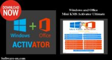 Photo of Mini KMS Activator Ultimate Portable 2019 Windows/ Office