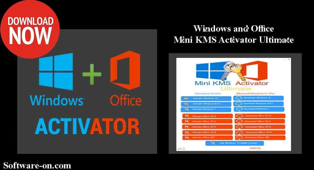 Mini Kms Activator Ultimate Portable 2019 Windows Office