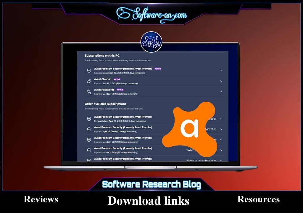 Avast Premium Activation Code & License | Software ON