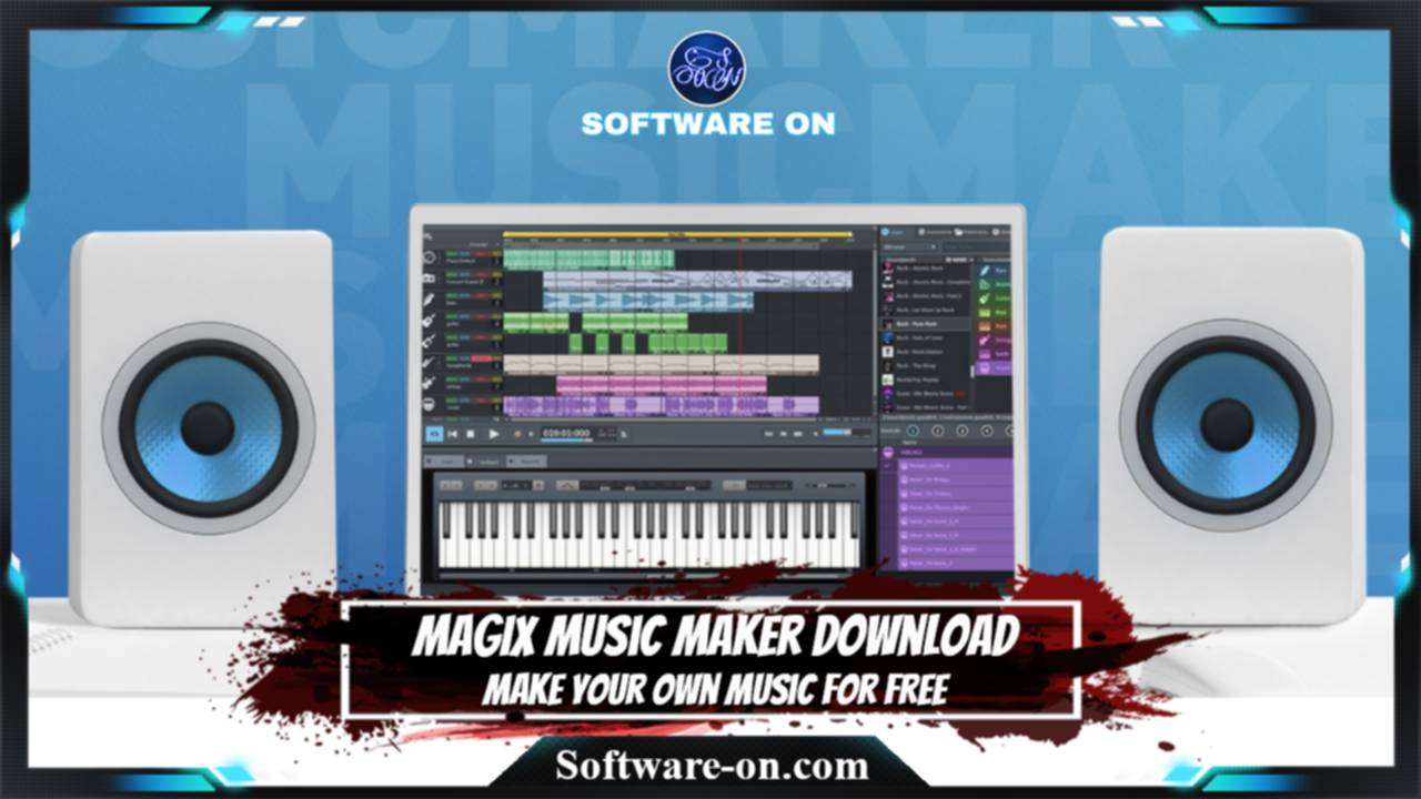 MAGIX Music Maker Download: Make Your Own Music For Free