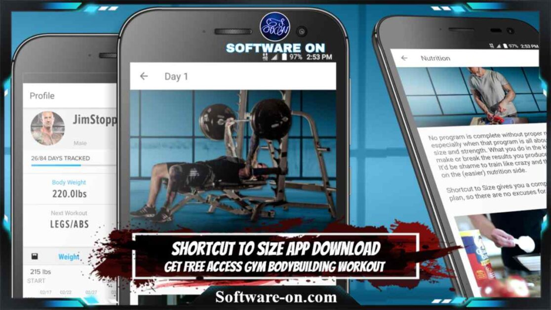 Shortcut To Size V1.4 APK App Download: Get Free Access Gym Bodybuilding Workout On Android